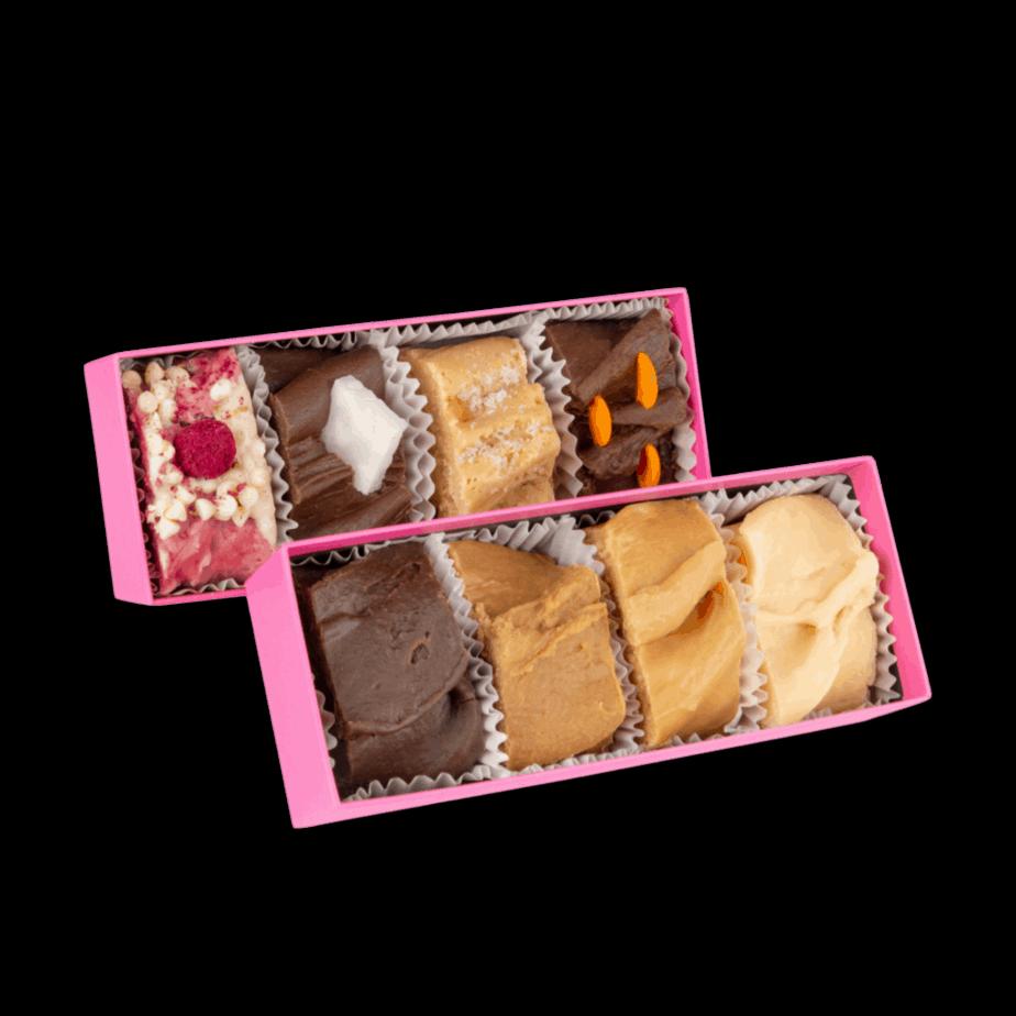 8 box fudge