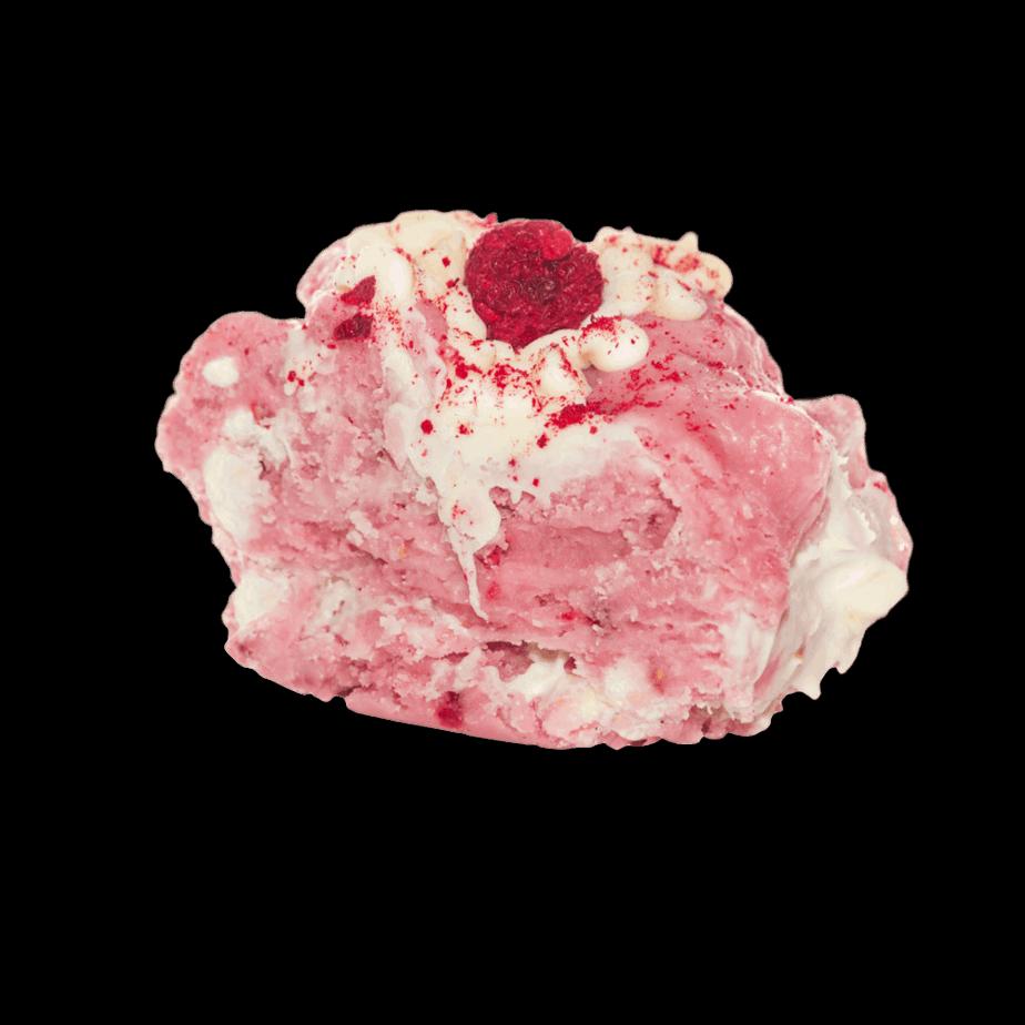 raspberry pavlova fudge