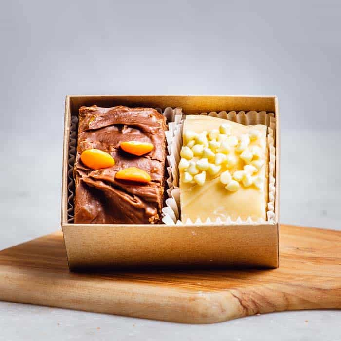 2 Piece Fudge Box