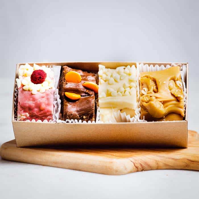 4 Piece Fudge Box