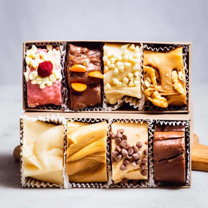 8 Piece Fudge Box